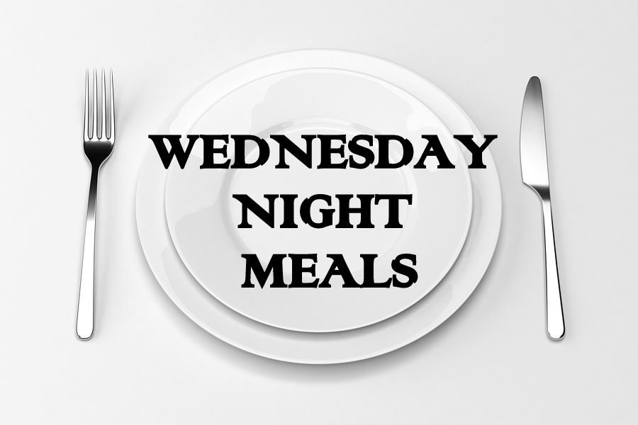 Wednesday night, meals, Woodmont