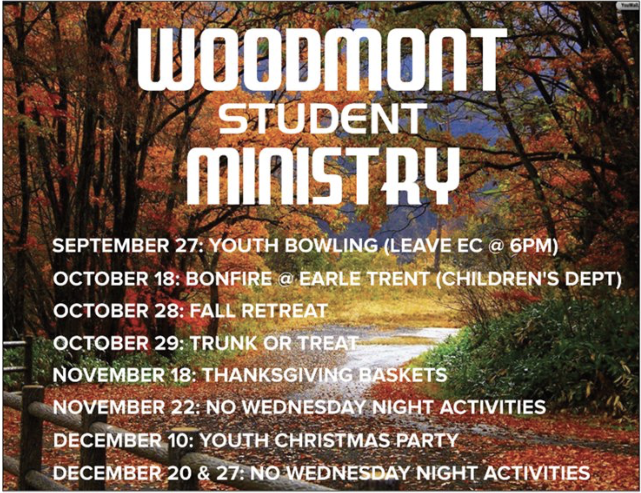 Youth, students, events, Woodmont, Baptist, Church